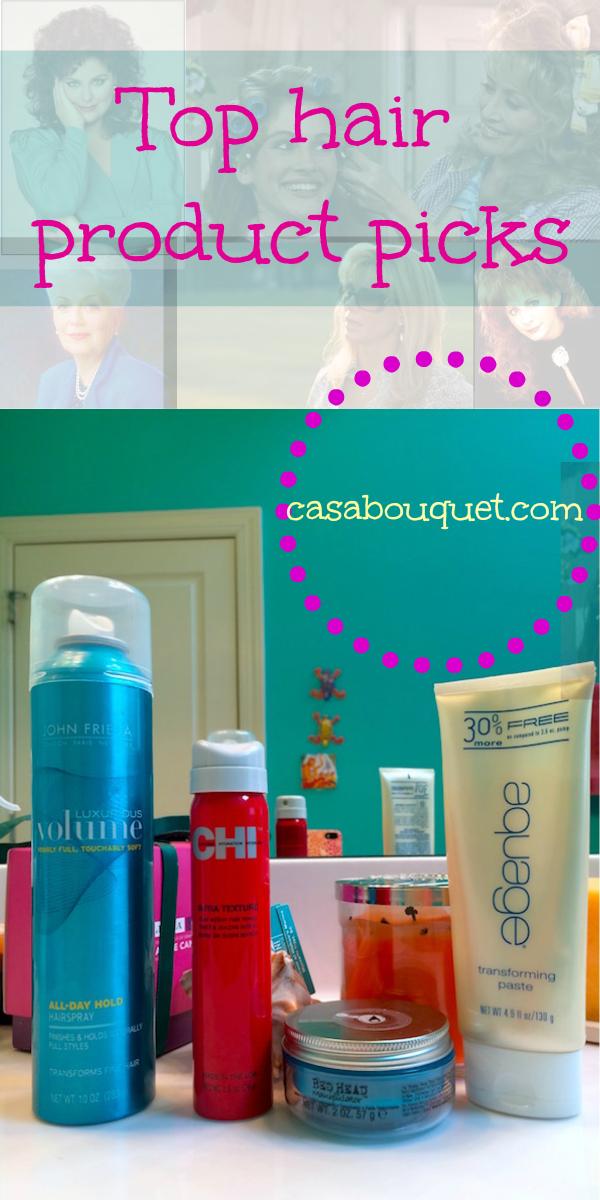 top hair product picks