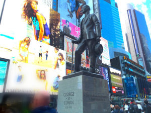 george-m-cohan times square