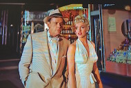 """Lisa's Home Bijou: Billy Wilder's delightful story about summer madness is """"The Seven Year Itch (1955), starring Marilyn Monroe and Tom Ewell and a white halter dress."""