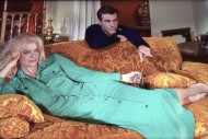 Alluring Melina Mercouri loves the Topkapi dagger and its emeralds. Peter Ustinov is part of her gang in this 1964 caper film. The outfits cannot be missed!