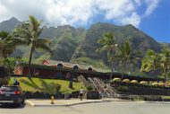 Things to do on Oahu include Kualoa Ranch, beautiful land on the windward side showcasing the Ko'olau range and Kaneohe Bay.