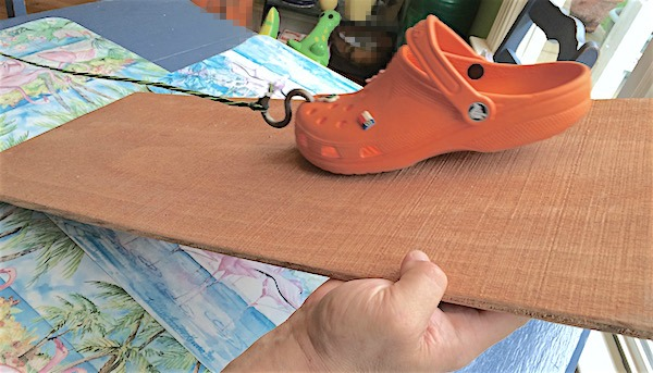 Shoe friction experiment