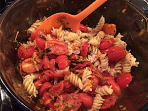 pasta-cooked