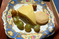 Banana pudding pie with scuppernong wine is a tribute to Bill Nesbitt, grape and wine researcher. Pie filling is similar to zabaglione or sabayon. Sweet and southern!