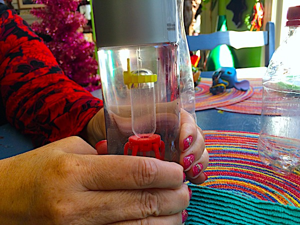 Floating diver – STEM pressure activity