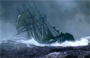 Russell Crowe and Paul Bettany sail and fight on the high seas in Napoleonic times. Master and Commander: The Far Side of the World (2003)