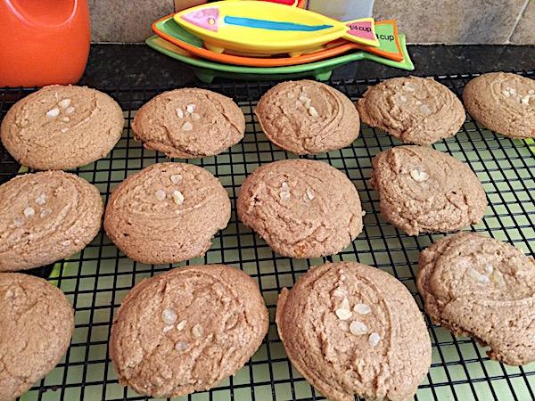 Ginger orange spice cookies