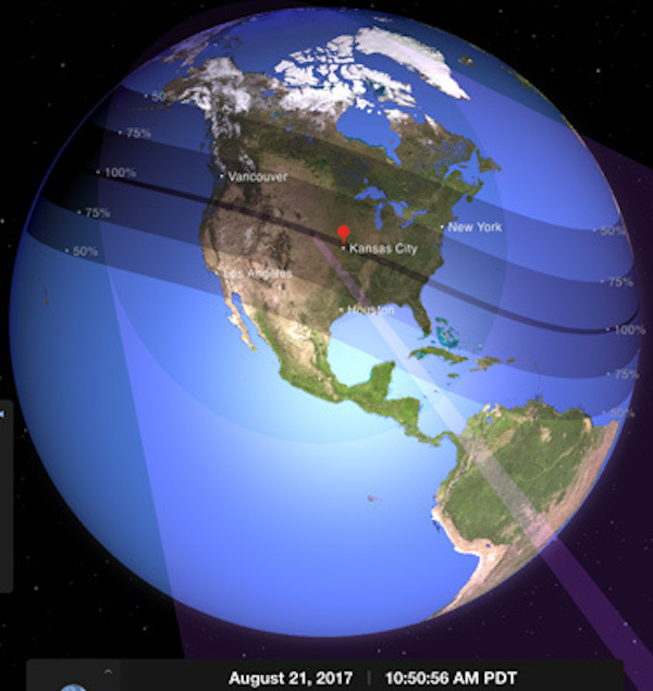 Teaching the solar eclipse – learning about sun, moon, earth