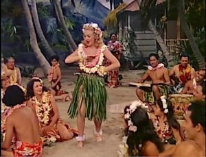 Betty Grable is the daughter of a Hawaiian cattle rancher finding love with Victor Mature. Features Hilo Hattie and Harry Owens. Lisa's Home Bijou: Song of the Islands (1942)