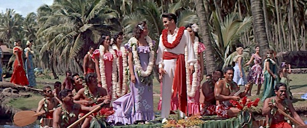Lisa's Home Bijou: Blue Hawaii Elvis as beach boy