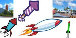 rocket-collage