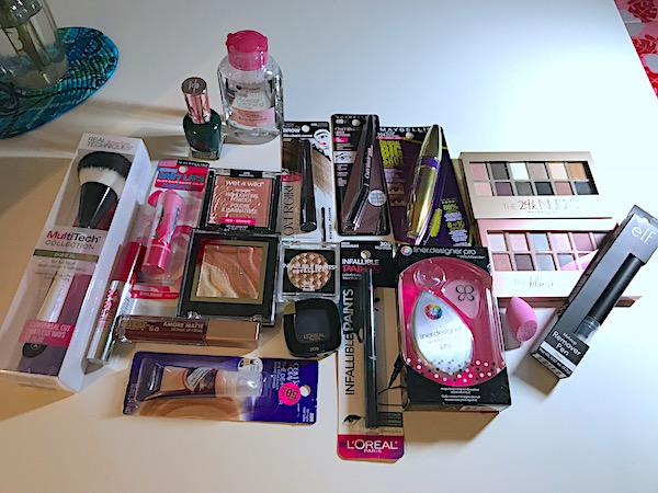 """My latest beauty makeup products roundup includes eyes, lips, face, and more. These are my """"drugstore"""" picks."""