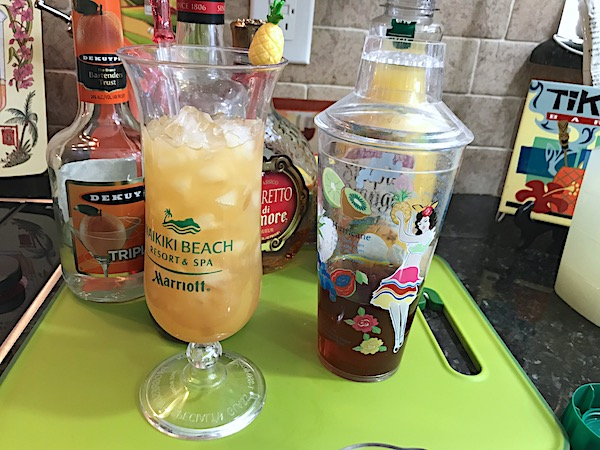 Mai tai rum cocktail out of this world classic