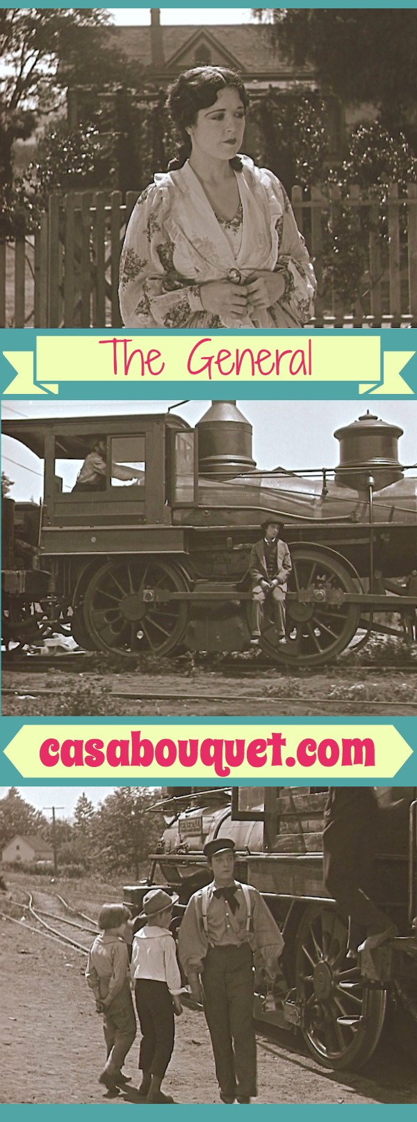 The General stars the great Buster Keaton in a Civil War tale. Action, romance, stunts, and comedy! Must see for film buffs. Lisa's Home Bijou: The General (1926)