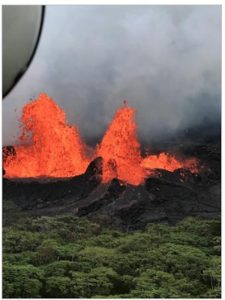 5 volcano lessons use models to teach lava, magma, volcano characteristics, chemical reactions, and geothermal power generation. Gelatin, cake batter, candle, and other household items are used. Computer simulations, maps, and research are used in teaching volcanoes. Images: United States Geological Survey. Volcano Hazards Program.