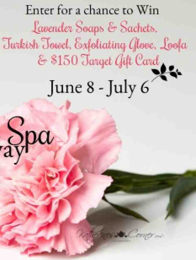 Summer Spa Giveaway 06.08.18 – 07.06.18